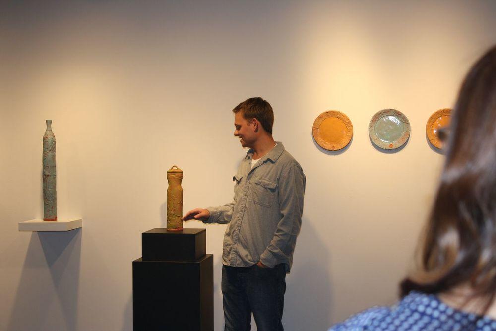 Artist Talk Bennett Roti