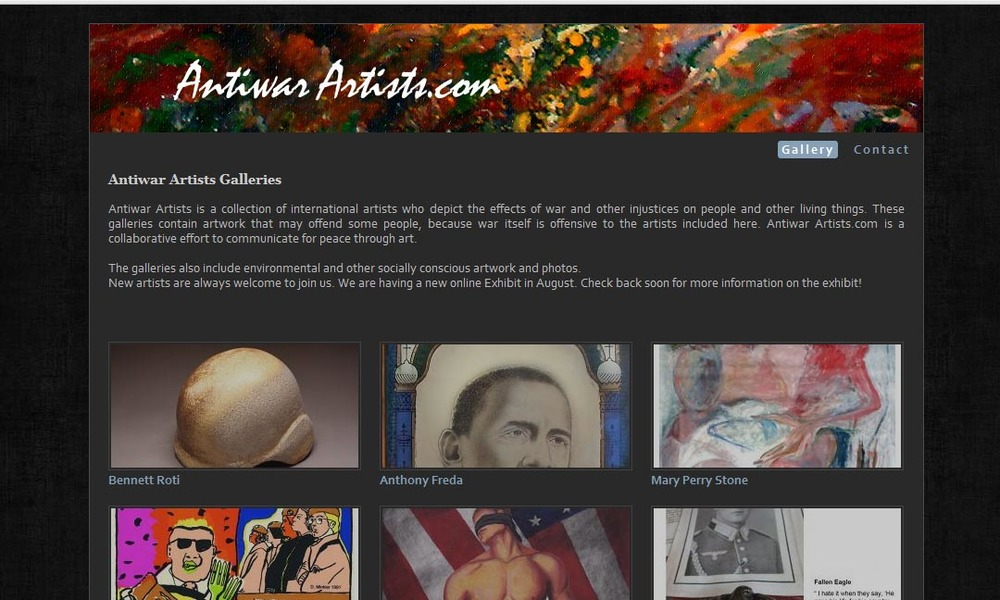 antiwarartists