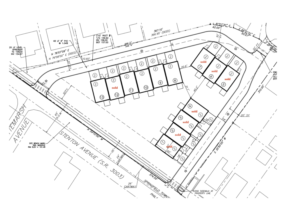overlea townhomes site plans overlea townhomes