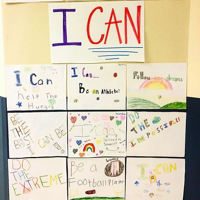 "The students at Union Prep at Indian Trail already have their We Can Projects underway. ""I can do the impossible."" ""I can follow my dreams."" ... a little Monday inspiration for us all. • • • • • • • • #inspiration #inspire #dream #dreambig #followyourdreams #love #goals #wevan #thewecanproject #wecanwecanwecan #communityservice #projects #backtoschool #school #elementaryschool"