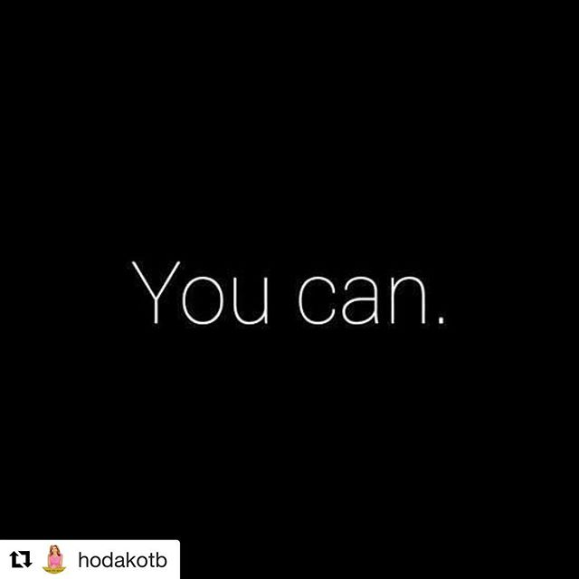@hodakotb, you get us.  I Can. You Can. We Can. Have you picked a We Can Project yet? • • • • • • • • #wecan #wecanwecanwecan #thewecanproject #todayshow #hoda #inspire #goals #project #dream #dreambig @todayshow @klgandhoda