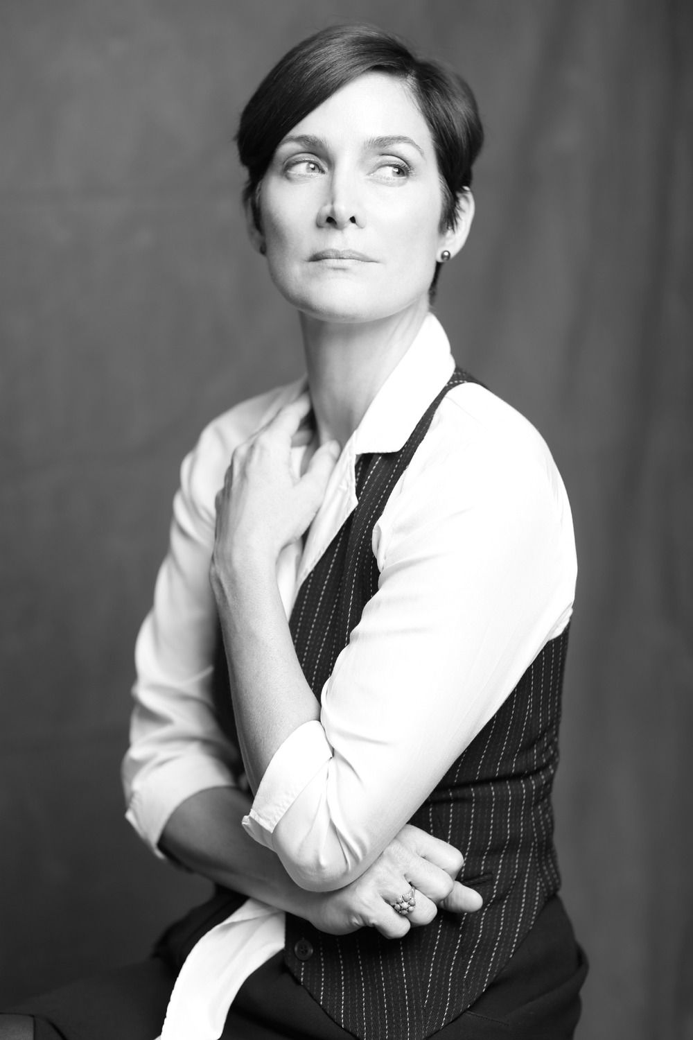 Carrie Anne Moss by  Diego LaFuente