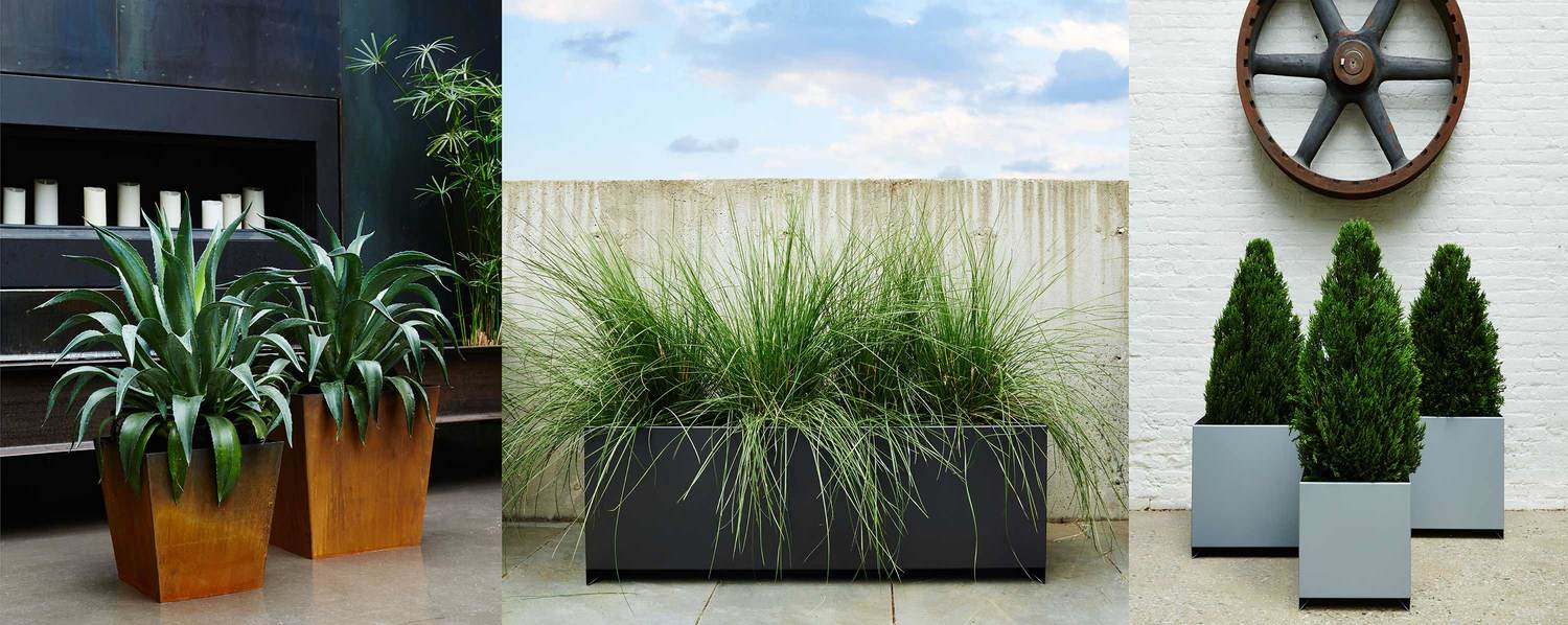 box planters planter art large outdoor pros rectangle products hill