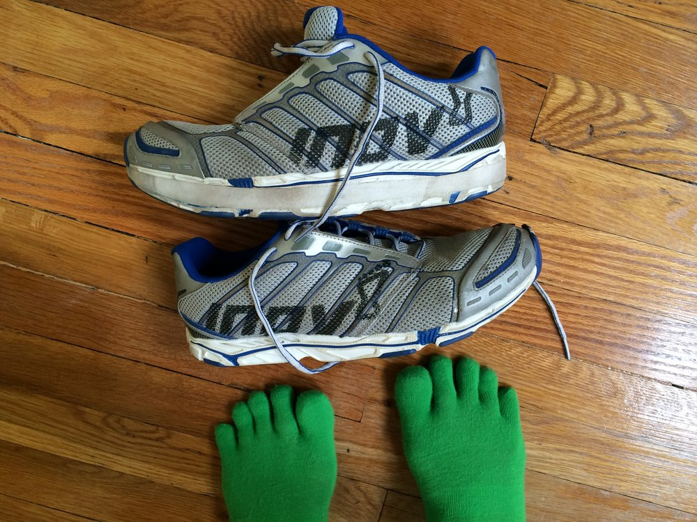 Crossfit ready! Love my zero-drop shoes and liberated toes!