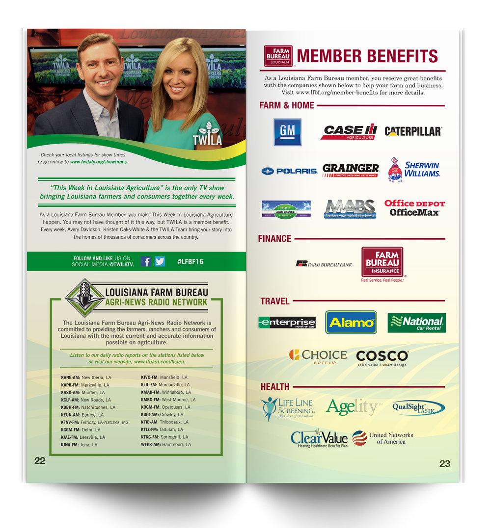 Main Program Sponsor & Benefits Spread Example