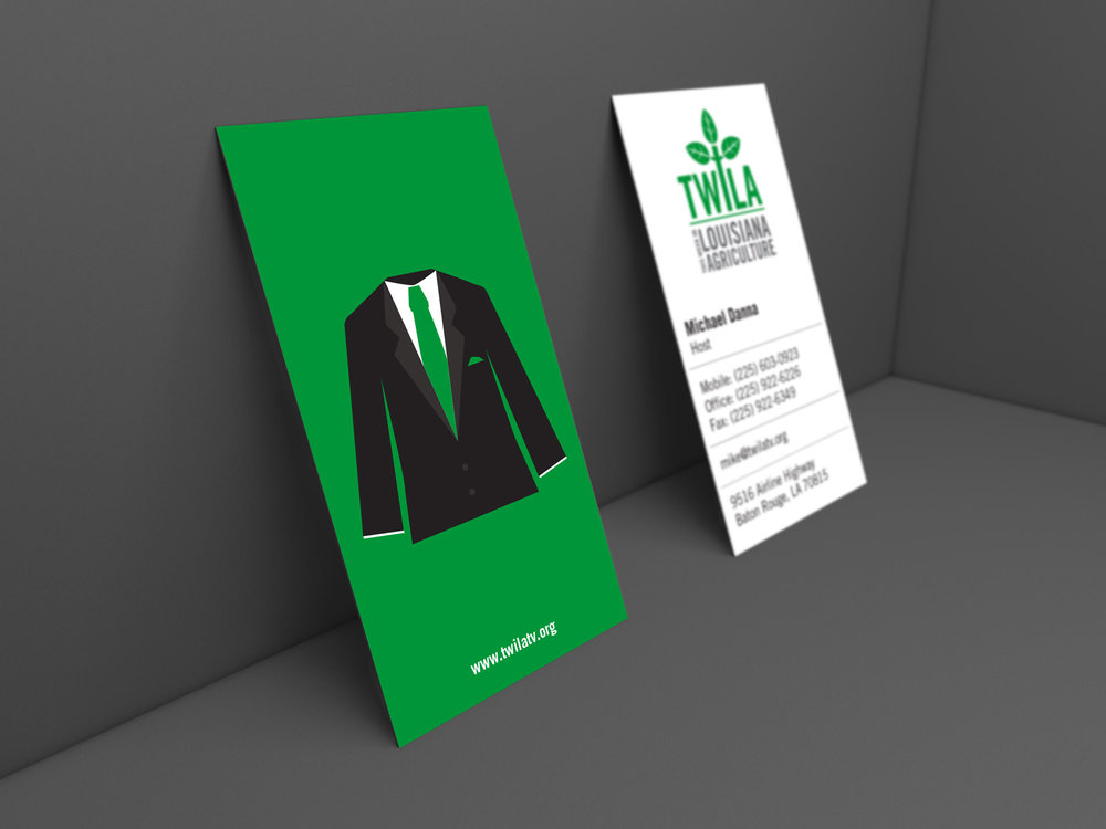 Business Card (Front & Back)