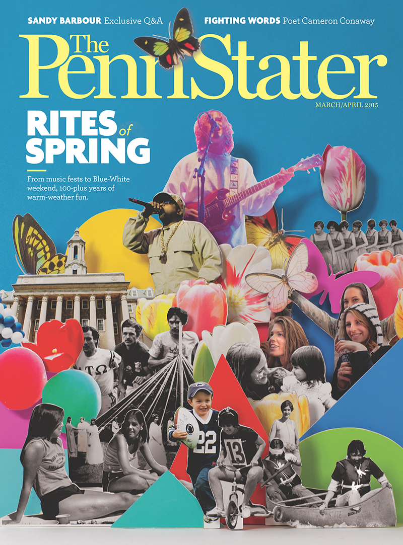 Penn Stater Magazine March 2015 Cover
