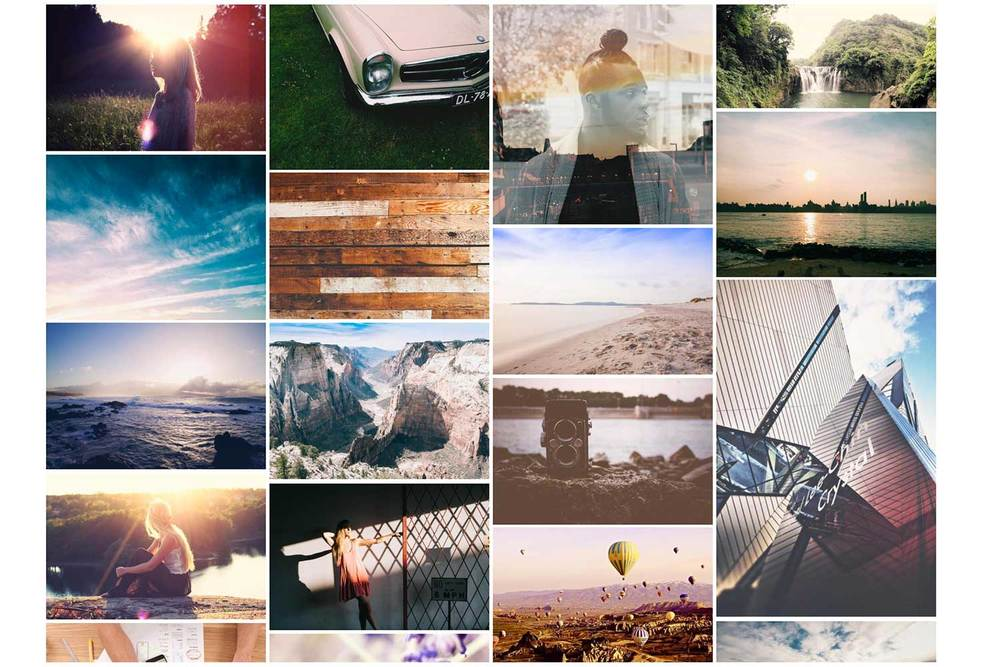 Colour matched photos from Finda.photo