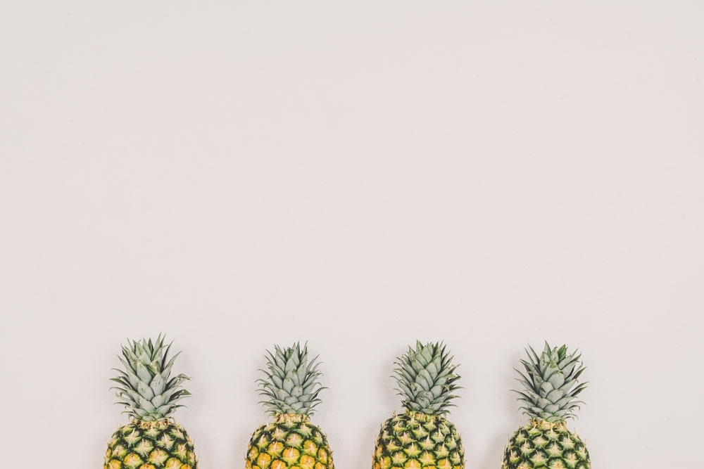 Nine things you must know. - life won't be worth living without being in on this knowledge bomb.pineapples are featured.