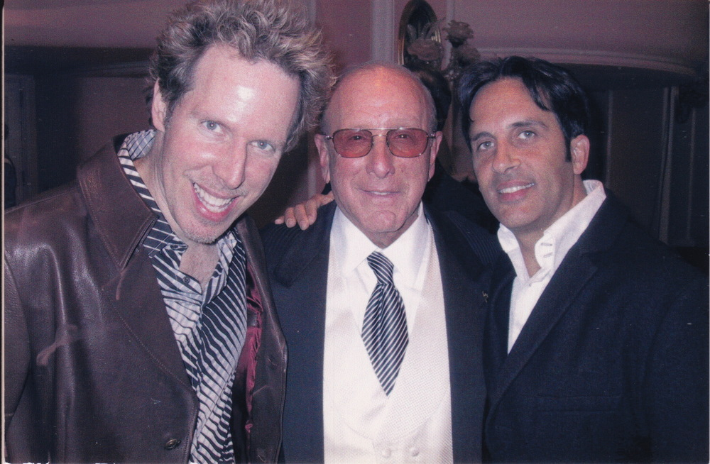 Carl, Clive Davis, and Evan at Clive's Pre Grammy Party