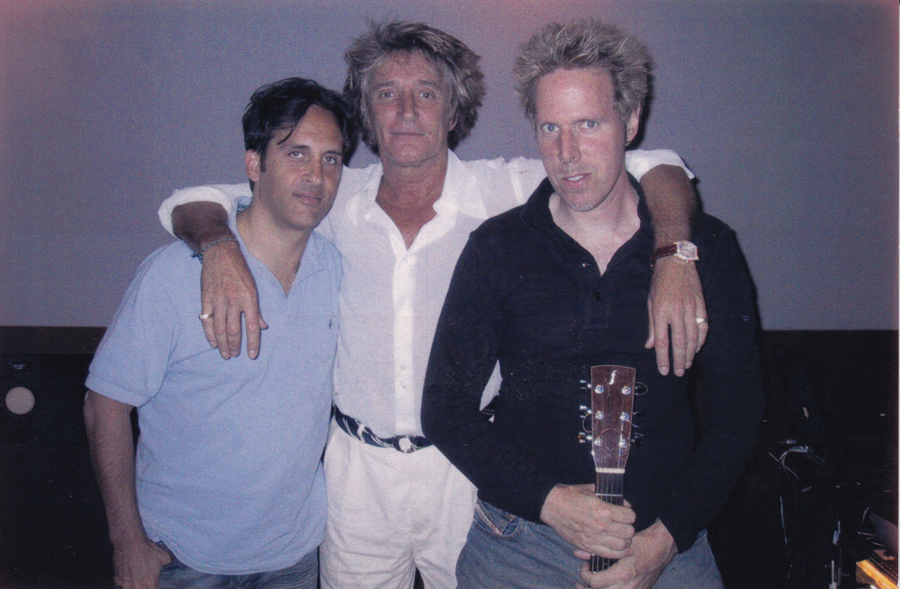 Evan, Rod Stewart, and Carl