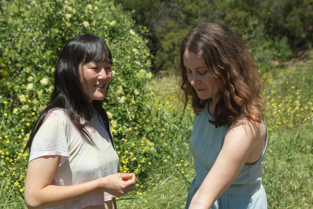 Saewhon Oh (left) & Amanda Ackerman