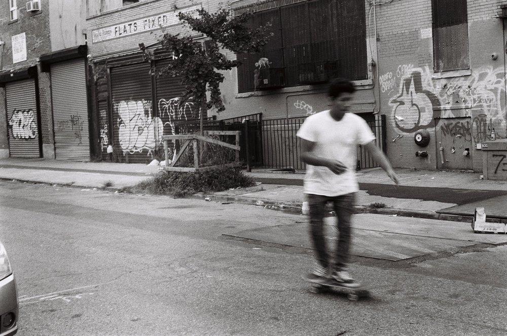 Skating in NYC