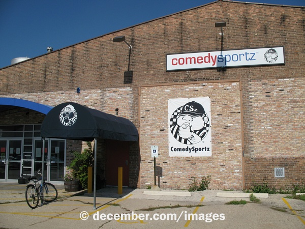 The original ComedySportz Milwaukee