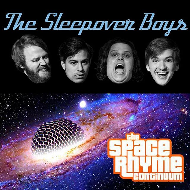 💪💪💪 We're lucky enough to have not one, not two, but THREE heavy hitters tonight at The EaDo Comedy Show: The SPACE RHYME CONTINUUM, The Sleepover Boys, and of course, Better Linda! Dang. That's a tasty line-up. Don't miss out tonight at 8pm. BYOB. 💪💪💪 . . #houston #thingstodoinhouston #eado #eastend #secondward #houarts #365houston