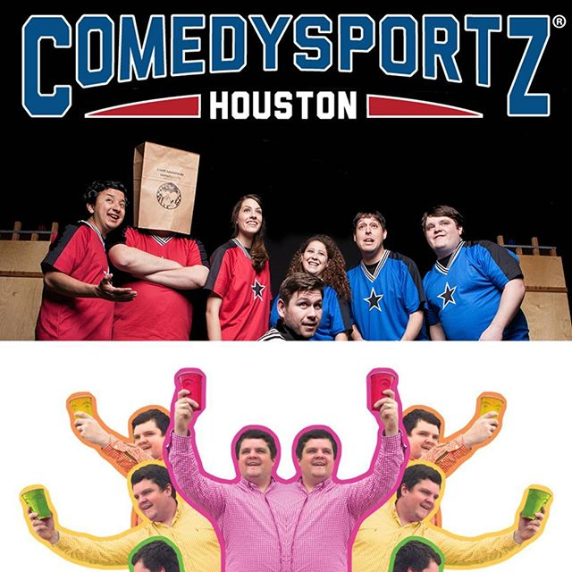 🤣🎶🍻 don't miss out on two awesome shows tonight! First a t8: the undeniably classic ComedySportz! Then at 10, the return of Benji and the Beer Babies at the beautiful @recroomhtx! Get your tickets now! 🍻🎶🤣 . . #thingstodoinhouston #houston #365houston #houstonnightlife #latenighthouston #houstoncomedy