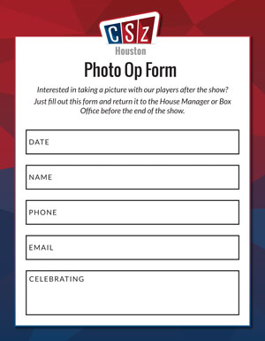 Photo Op Form