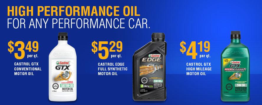 Castrol Gtx Conventional Motor Oil Treadaway 39 S