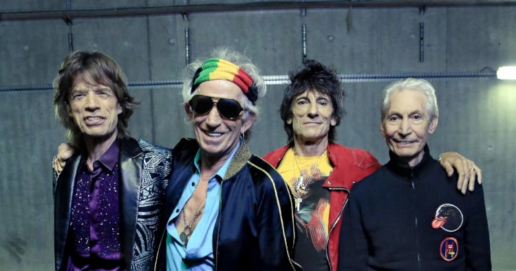 The Rolling Stones - just one of the many older rockers who have more to do.