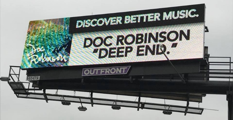 Doc Robinson was featured earlier this year on our billboard campaign (Photo: Vince Tornero).