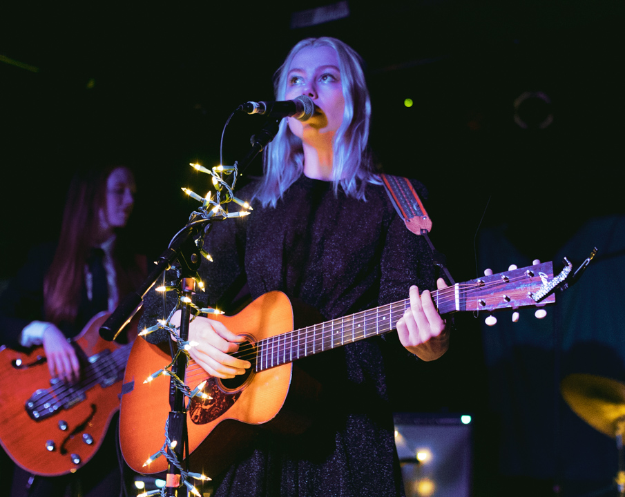 Phoebe Bridgers at the Basement. By Tiffany Detzel.