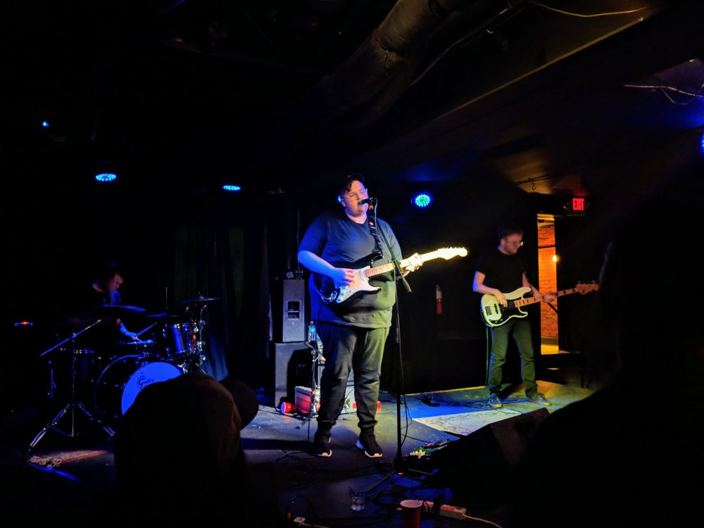 The full Michigander band takes the stage on Tuesday, April 24 at Rumba Cafe. (Photo by Zak Kolesar)