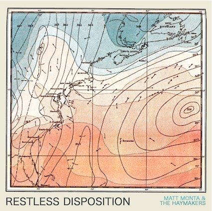 Album artwork for  Restless Disposition. (Photo provided by Matt Monta)