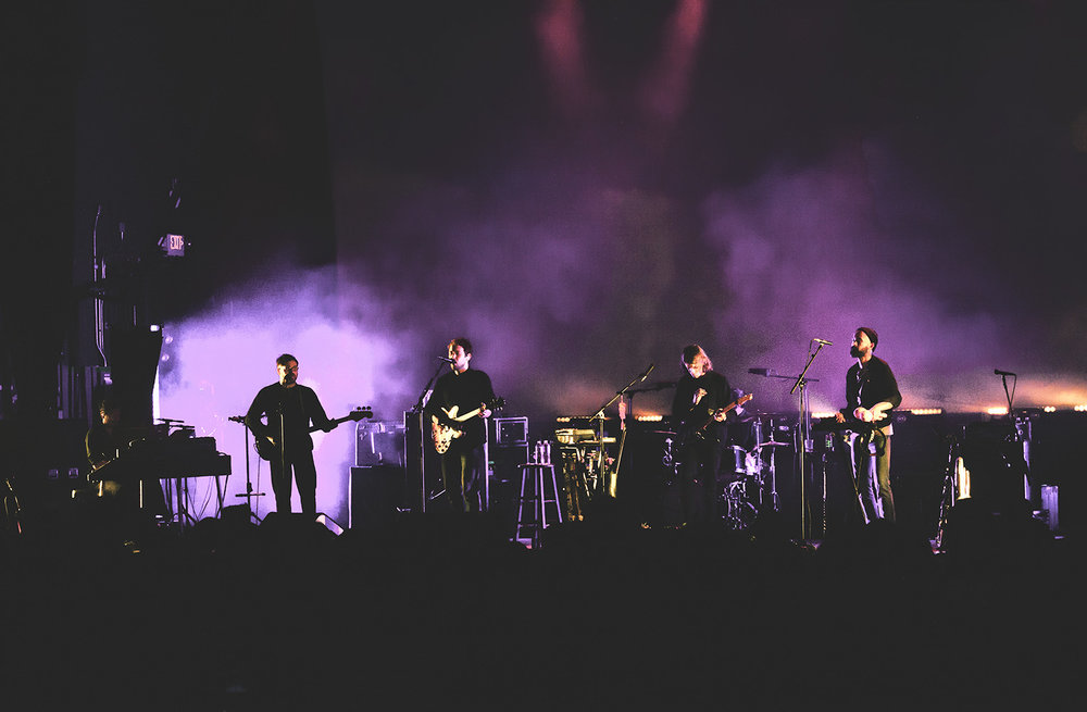 Fleet Foxes performing indoor at Express Live on Saturday, May 20. (Photo by: Catherine Lindsay)