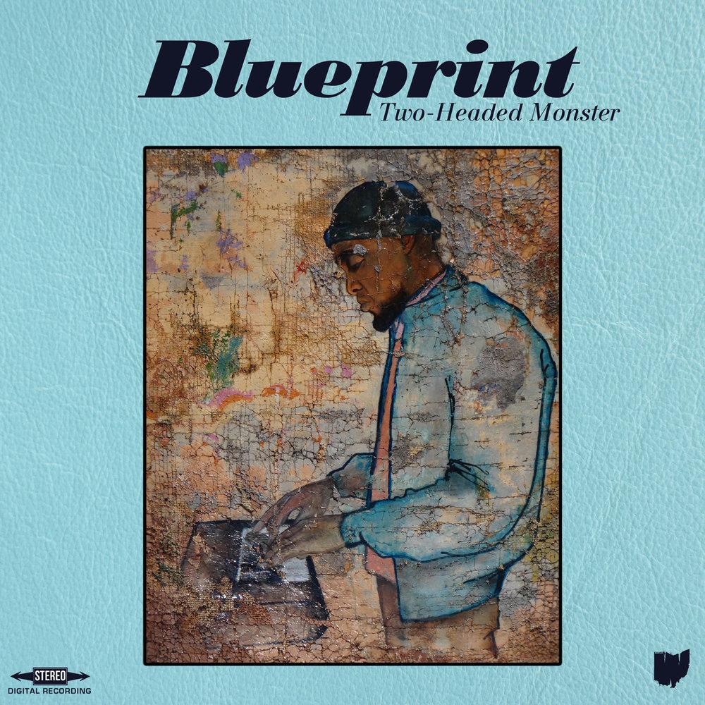 Album artwork for Blueprint's Two-Headed Monster. (Photo courtesy of:  weightless.net )