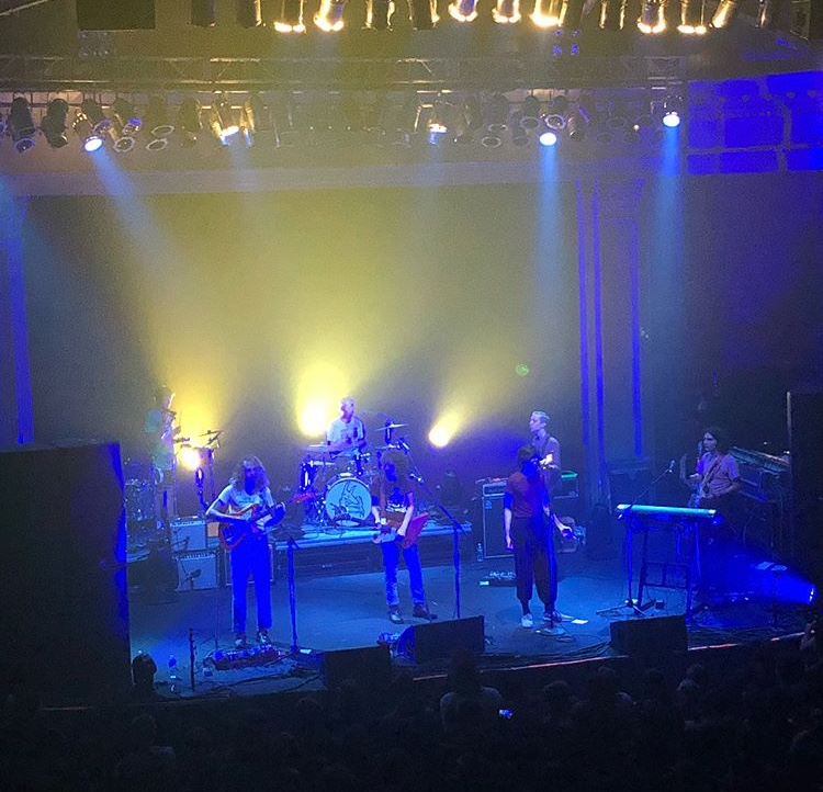 Car Seat Headrest performing at Newport Music Hall. (Photo courtesy of COLIN ALDRIDGE)