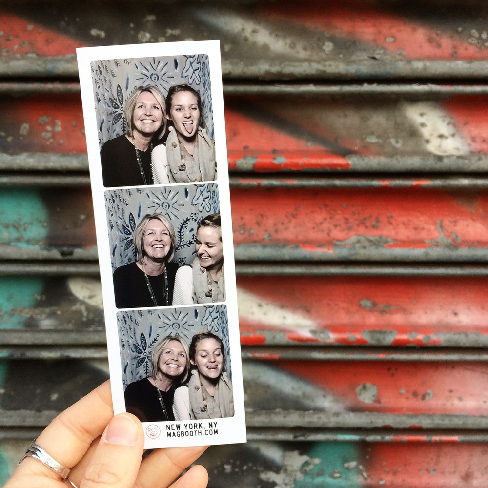 Renegade NYC must-have photo booth pictures. Because, photo booth.