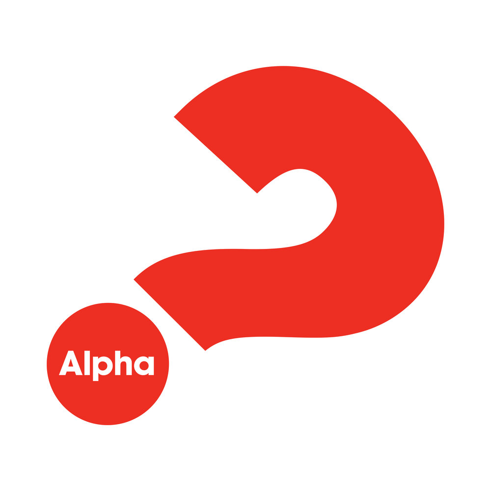 - Alpha is a series of sessions exploring the Christian faith. Each talk looks at a different question around faith and is designed to create conversation. Alpha is run all around the globe, and everyone's welcome. It runs in cafés, churches, universities, homes—you name it. No two Alphas look the same, but generally they have three key things in common: food, a talk and good conversation.