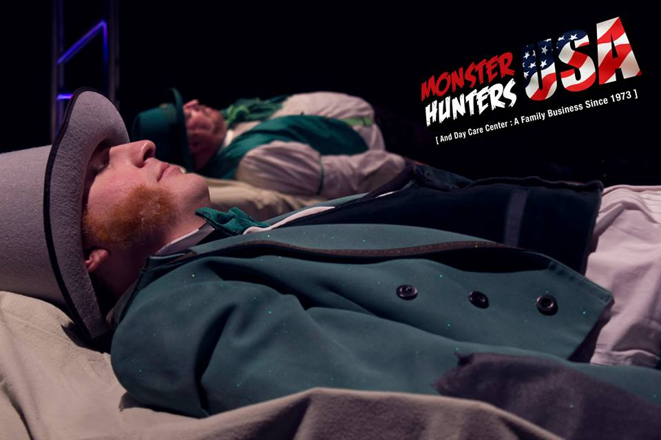 Daniel's latest TV Pilot, Monster Hunter's U.S.A.