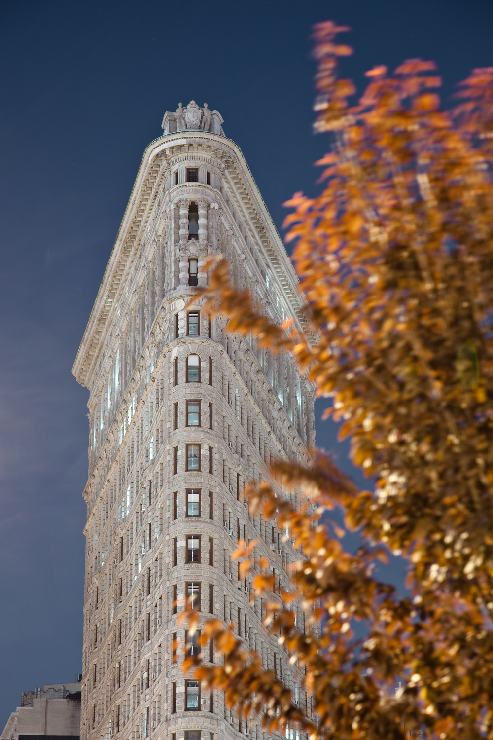 Flatiron and Fall Colors