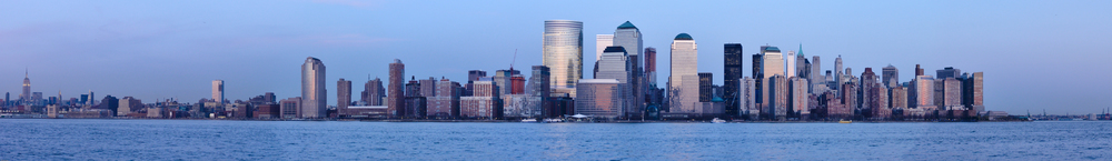 Downtown Skyline from Jersey City (pre WTC)