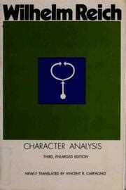 Character Analysis by Wilhelm Reich