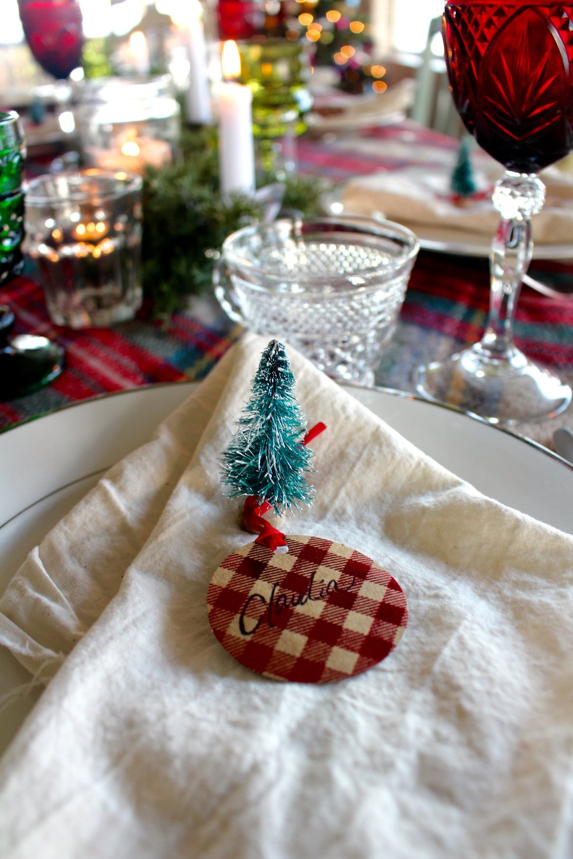 Blanket Scarf Christmas Table