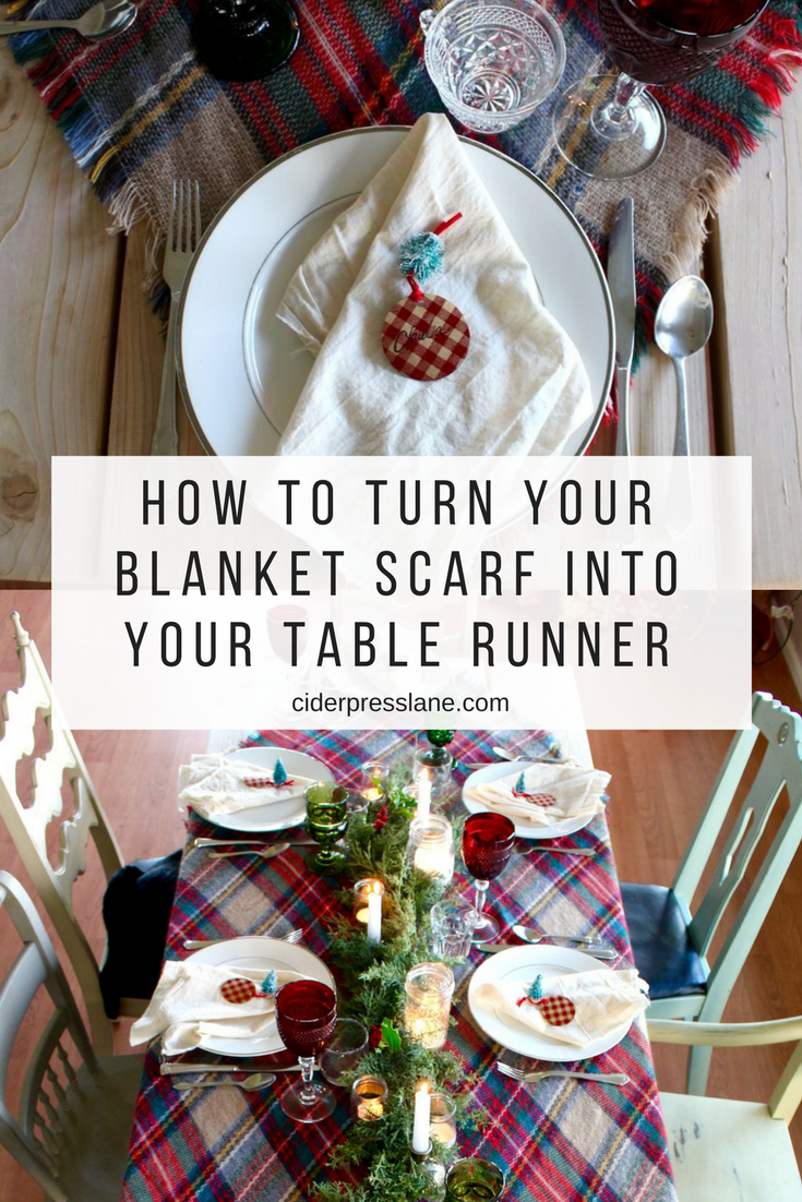 how to turn your blanket scarf into your table runner.png