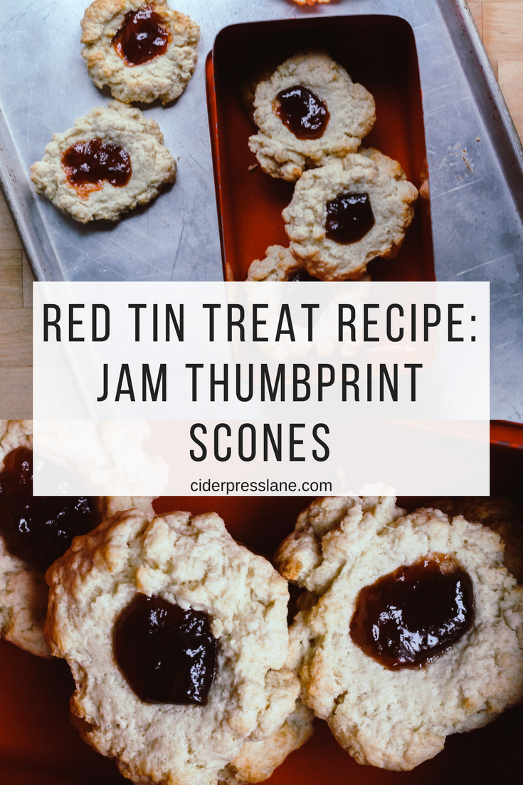 The recipe your kids are sure to eat up before you even get a chance Jam Thumbprint scones.png