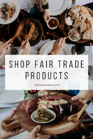 fair trade products kitchen