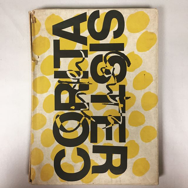 Sister Corita. Pilgrim Press, 1968. Swipe left so hard. Near mint 10x14 book with 34 loose prints (two of which are giant fold-outs) housed in a rad, albeit a bit tattered clamshell box. Very rare to have all prints present, especially without creasing and pin holes. Send an email to mail@beached-whale if you're interested! #coritakent #sistercorita #popart #60s #coolcatholics