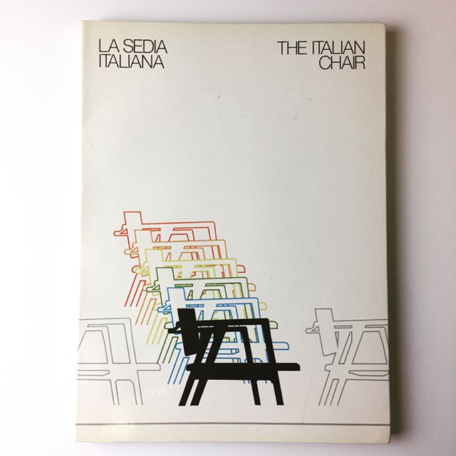 The Italian Chair. Italian Institute for Foreign Trade, 1983. Cool English/Italian trade reference regarding the history and context of the Italian chair, production methodologies, the current (then) market and a directory of Italian chair manufacturers as of 1981. Send an email to mail@beached-whale.com if you're interested! #chairs #italiandesign #italy #sitting #beingseated #lounging
