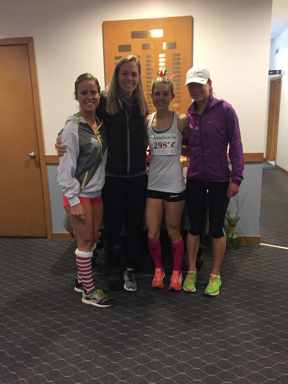 """Some fast ladies representing """"McKirdy Trained"""" And Gotham City Runners!"""