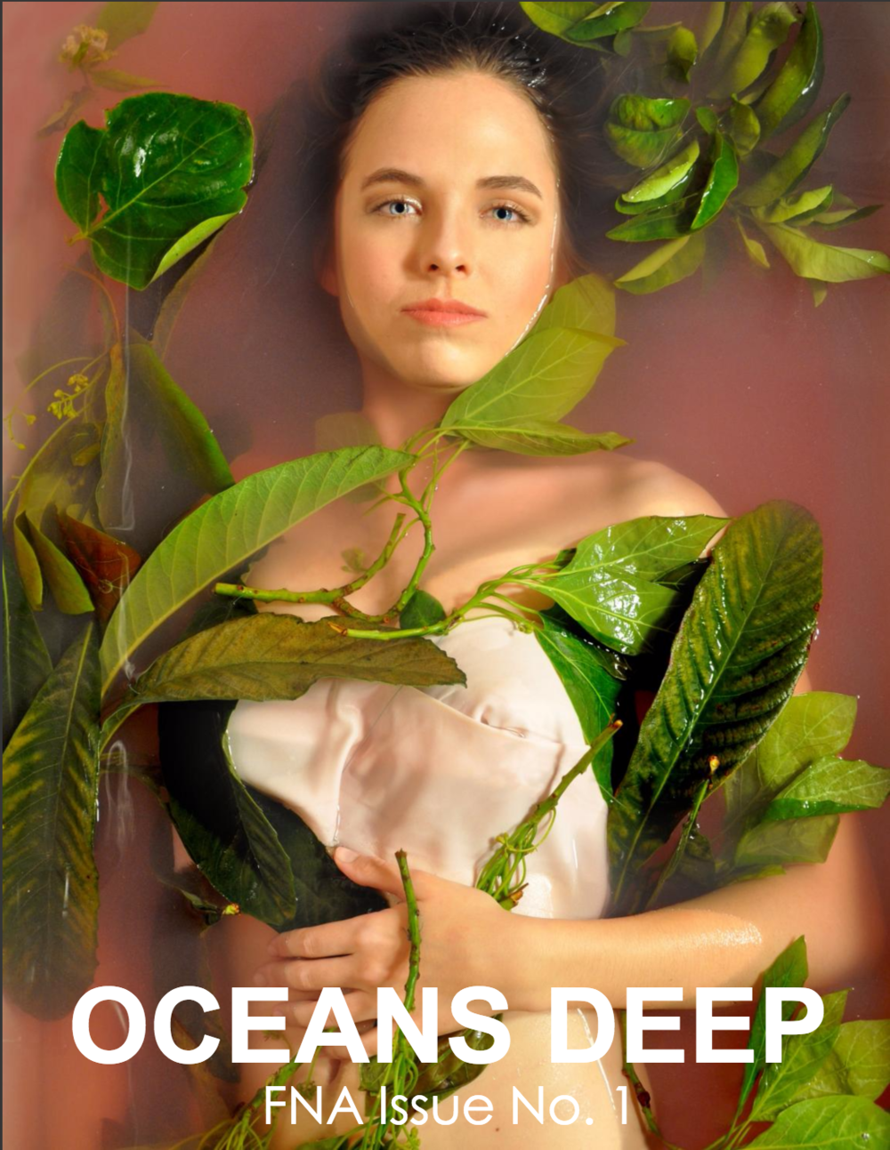 OCEANS DEEP  - Previously I was the Creative/Art Director for Fashion Network Association's first online magazine: Oceans Deep, I was in charge of layout design, the editorial photoshoot, and visually conceptualizing FNA's brand with the summer issue theme -
