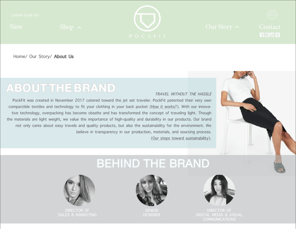 PockFit - Marketing PlanPockFit was a product/brand developed and marketed for my Product Development course (ADM 665). Along with two talented classmates Alex DaSilva and Haley Gordon, we created a product that can revolutionize the meaning of