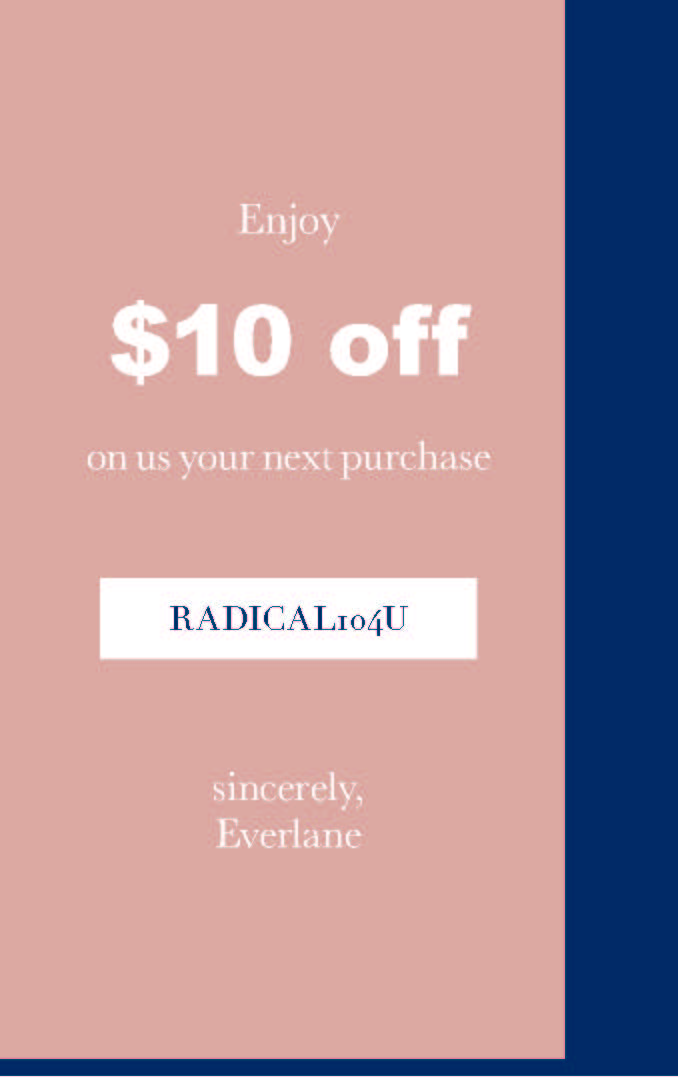 Everlane Coupon/Direct Mail (Pt. 1)