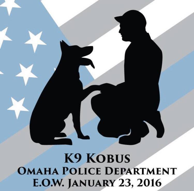 K9 Kobus - Omaha Police Department - E.O.W. (End of Watch) January 23, 2016