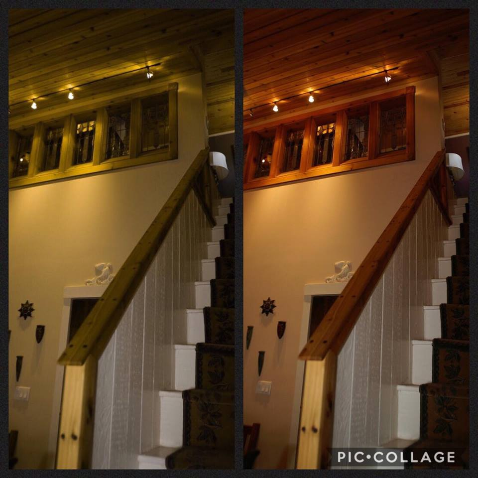 This is the stairway to the upstairs part of the apartment over the store proper. In almost two decades, I was never up there. I had my partner, Samantha, take pictures for me as the second floor work progressed.