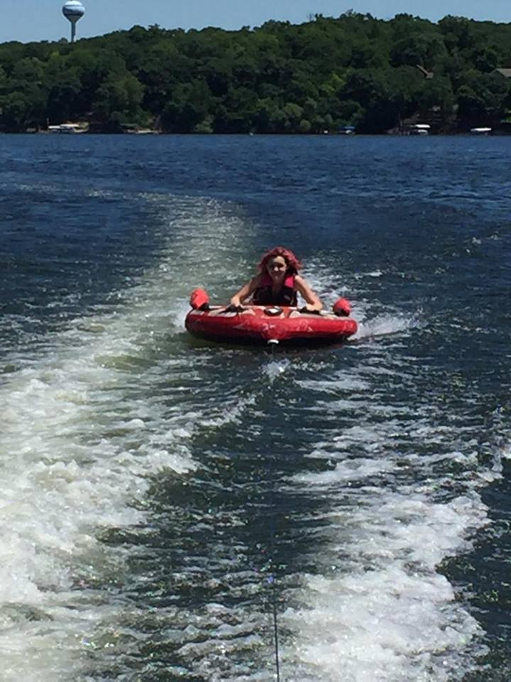 Abby on the tube