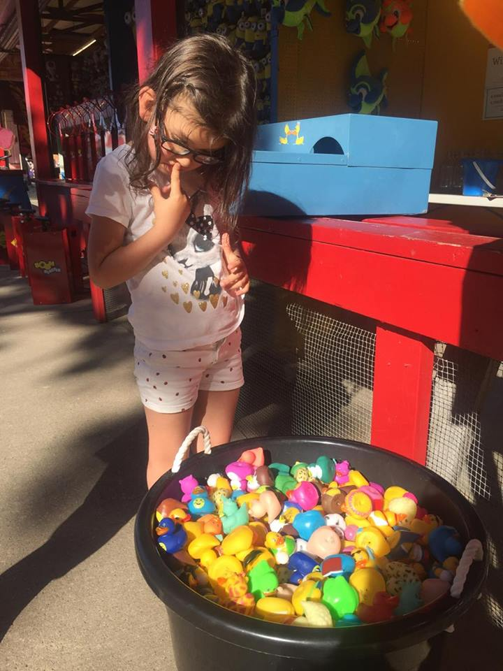 Every time Olive had a choice of prizes, she chose a duck.